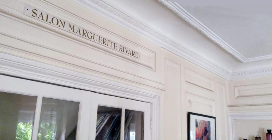 Fotografía del salón Marguerite Rivard en Auxilia Francia